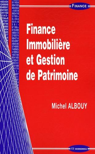 Michel Albouy - Finance immobilière et gestion de patrimoine.