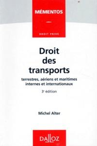 DROIT DES TRANSPORTS. Terrestres, aériens et maritimes internes et internationaux, 3ème édition 1996.pdf