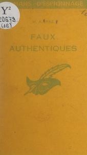 Michel-André Paz - Faux authentiques.