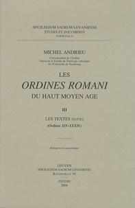 Les Ordines romani du Haut Moyen Age - Tome 3, Les textes (Ordines XIV-XXXIV).pdf