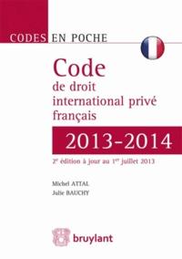 Deedr.fr Code de droit international privé français 2013-2014 Image