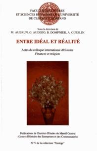 Michel Aubrun et Gabriel Audisio - Entre idéal et réalité.