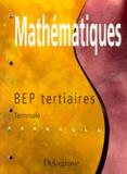 Michel Babin et Pierre Salette - Fichier de mathématiques - Terminale, BEP du secteur tertiaire....