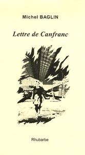 Michel Baglin - Lettre de Canfranc.