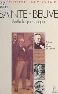 Michel Balzamo et Bruno de Cessole - Sainte-Beuve - Anthologie critique.