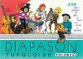 """Michel Bancal - Diapason Turquoise - Tome 2, Chants populaires du pays France avec """"guide-chants"""" sur Internet."""