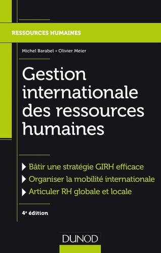 Michel Barabel et Olivier Meier - Gestion internationale des ressources humaines.