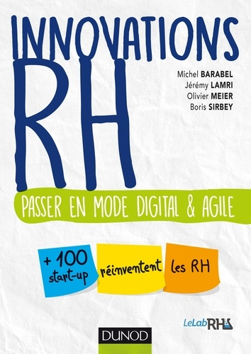 Innovations RH. Passer en mode  digital et agile