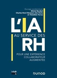 Michel Barabel et Timothée Ferras - L'IA au service des RH - Pour une expérience collaborateur augmentée.
