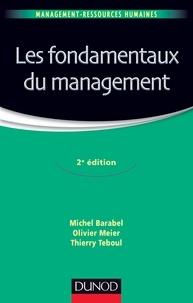 Michel Barabel et Olivier Meier - Les fondamentaux du management - 2e édition.