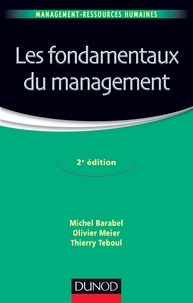 Michel Barabel - Les fondamentaux du management.