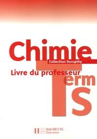 Michel Barde et Nathalie Barde - Chimie Tle S - Livre du professeur.