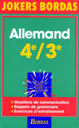 Michel Bariatinsky et Francine Saucier - Allemand 4e-3e.