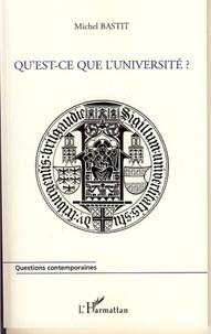 Michel Bastit - Qu'est ce que l'université?.