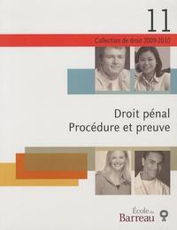 Michel Beauchemin - Droit pénal - Procédure et preuve.