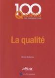 Michel Bellaïche - La qualité.