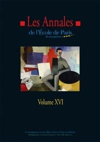 Michel Berry - Les annales de l'Ecole de Paris du management - Volume 16, Travaux de l'année 2009.