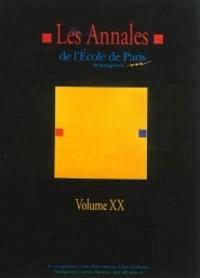 Michel Berry - Les annales de l'Ecole de Paris du management - Tome 20, Travaux de l'année 2013.