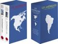 Michel Bertrand et Jean-Michel Blanquer - Les Amériques - Du Précolombien à nos jours. Coffret en 2 volumes.