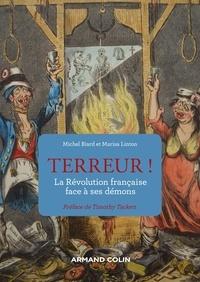 Michel Biard et Marisa Linton - Terreur ! - La Révolution française face à ses démons.