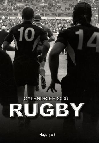 Michel Birot et Julien Poupart - Rugby - Calendrier 2008.