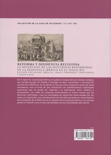 Reforma y disidencia religiosa. La recepción de las doctrinas reformadas en la península ibérica en el siglo XVI
