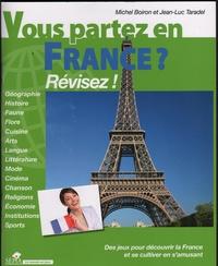 Michel Boiron et Jean-Luc Taradel - Vous partez en France ? - Révisez !.