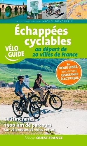 Echappées cyclables au départ de 20 villes de France