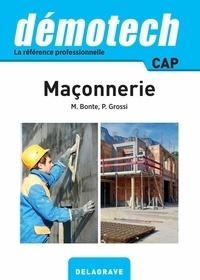 Michel Bonte et Primo Grossi - Démotech Maçonnerie CAP (2016).