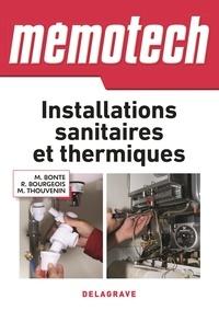 Michel Bonte et René Bourgeois - Installations sanitaires et thermiques.