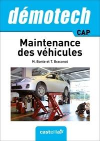 Michel Bonte et Thierry Braconot - Maintenance des véhicules CAP - Démotech.