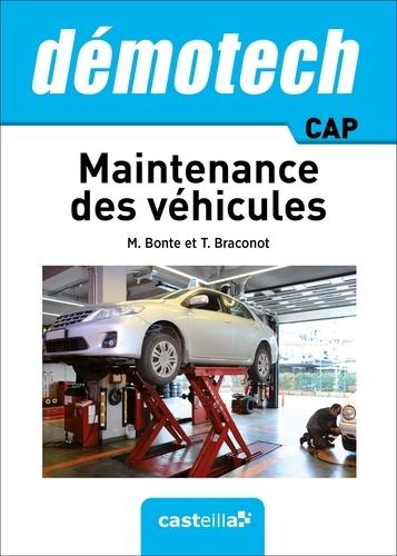 Maintenance des véhicules CAP - 9782206101057 - 19,99 €