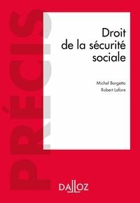 Michel Borgetto et Robert Lafore - Droit de la sécurité sociale - 19e éd..
