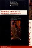Michel Boudot et Marianne Faure-Abbad - Responsabilité contractuelle et responsabilité extracontractuelle.