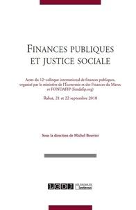 Michel Bouvier - Finances publiques et justice sociale.