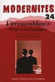 Michel Braud et Valéry Hugotte - L'irressemblance - Poésie et autobiographie.