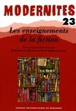 Michel Braud et Béatrice Laville - Les enseignements de la fiction.