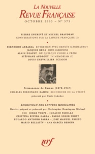 Michel Braudeau - La Nouvelle Revue Française N° 575 (octobre 2005 : Où en est la langue française ?.