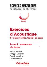 Alixetmika.fr Exercices d'acoustique - Tome 1, Corrigés détaillés, rappels des cours Image
