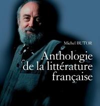 Michel Butor - Petite histoire de la littérature française - Anthologie de la littérature française, avec 1 DVD. 6 CD audio