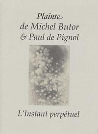 Michel Butor - Plainte.