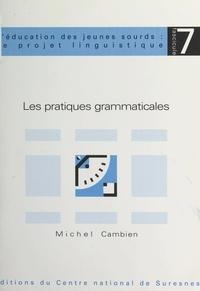 Michel Cambien et Michel Laurent - Les pratiques grammaticales.