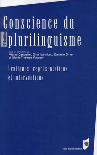 Michel Candelier et Gina Ioannitou - Conscience du plurilinguisme - Pratiques, représentations et interventions.