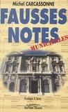 Michel Carcassonne - Fausses notes municipales.