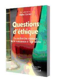 Goodtastepolice.fr Questions d'éthique - La recherche médicale de la naissance à l'âge adulte Image