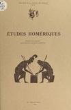 Michel Casevitz - Etudes homériques.
