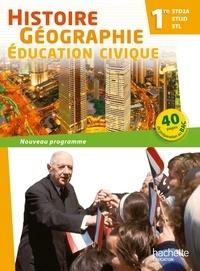 Michel Casta et Alain Prost - Histoire-géographie-éducation civique 1re STD2A/STI2D/STL - Livre de l'éléve.