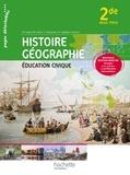 Michel Casta et Michel Corlin - Histoire Géographie Education civique 2e Bac Pro.