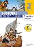 Michel Casta et Thierry Falconnet - Histoire géographie éducation civique - 2de Bac Pro.