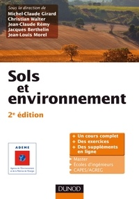 Michel-Claude Girard et Christian Walter - Sols et environnement.